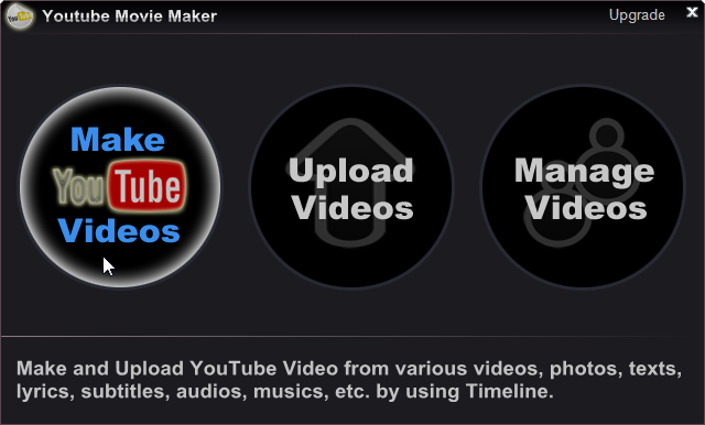 make youtube video
