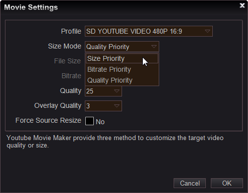 how to put movie maker videos on youtube